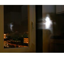 urban escape in the night side Photographic Print