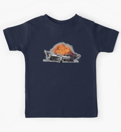 Increase Your Gears: The World Is Exploding! Kids Tee