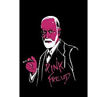 Pink Freud Photographic Print