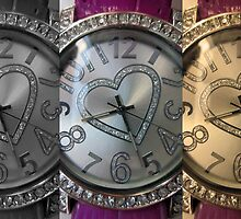 Three Watches in a Row by Victoria Ellis
