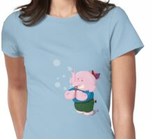 Phipphy the 'phant (2) Womens Fitted T-Shirt