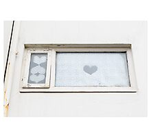 Hearts in Reykjavik 1 (Iceland) Photographic Print