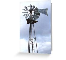 Windmill of the West Greeting Card