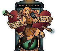 Hello Sweetie - STICKER by MeganLara