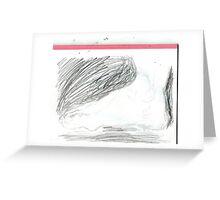 copy sculpture foot -(230511)- pencil/A4 drawing pad Greeting Card