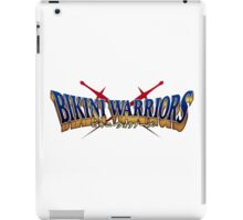BIKINI WARRIORS - TITLE (RENDER/BADGE) iPad Case/Skin