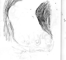 copy sculpture foot 3 -(230511)- pencil/A4 drawing pad by paulramnora