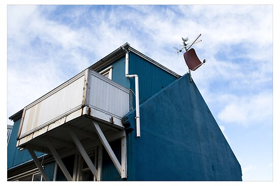 The Dish in the Blue, Reykjavik (Iceland) by Madeleine Marx-Bentley