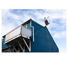 The Dish in the Blue, Reykjavik (Iceland) Photographic Print