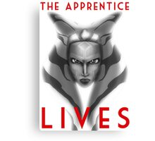 The apprentice lives Canvas Print
