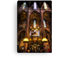 Palma Cathedral Pipe Organ Canvas Print