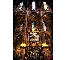Palma Cathedral Pipe Organ Photographic Print