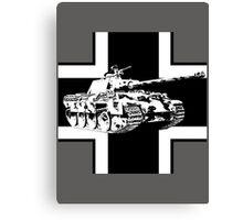 WW2 Panther tank Canvas Print