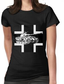 WW2 Panther tank Womens Fitted T-Shirt
