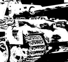 WW2 Panther tank Sticker