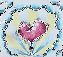 Heart on a String by hammeltin