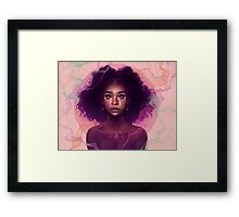 Facets Framed Print