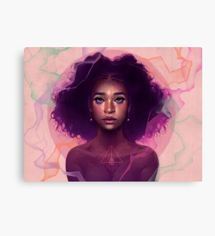 Facets Canvas Print