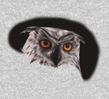 Owly Night One Piece - Short Sleeve