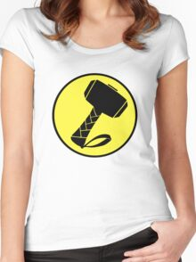 Captain Mjolinir- Everyone's hero! Women's Fitted Scoop T-Shirt