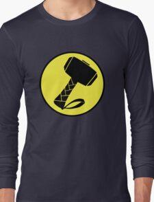 Captain Mjolinir- Everyone's hero! Long Sleeve T-Shirt
