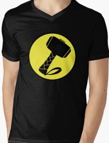 Captain Mjolinir- Everyone's hero! Mens V-Neck T-Shirt