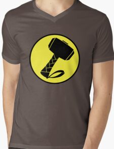 Captain Mjolinir- Everyone's hero! Mens V-Neck T-Shirt