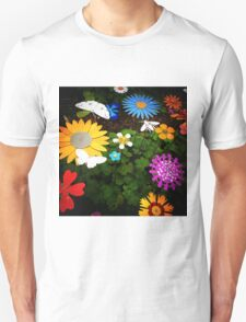 Fake Flowers Unisex T-Shirt