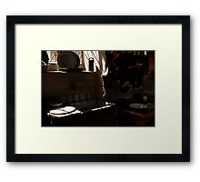 Canons Ashby House  The Kitchen Framed Print