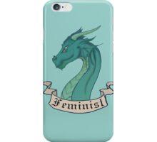 FEMINIST - Dark Dragon iPhone Case/Skin
