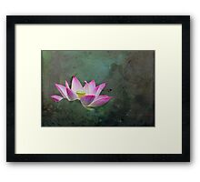 Mystical Lotus Framed Print