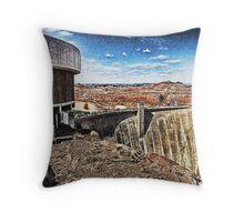 Glen Canyon Dam Lake Powell Throw Pillow