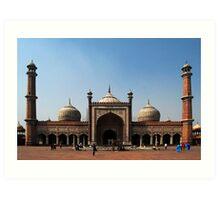 Jama Masjid, Delhi, India Art Print