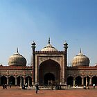 Jama Masjid, Delhi, India by nwexposure