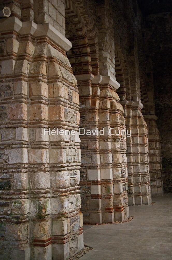 Pillars of the faith by Hélène David-Cuny
