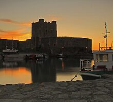 Carrickfergus Castle, Ireland. by Fred Taylor