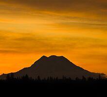 Mount Rainier Sunrise by nwexposure