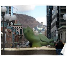 Bienvenue à Montréal Poster