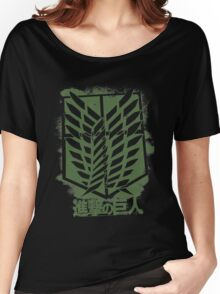 attack on titan Women's Relaxed Fit T-Shirt