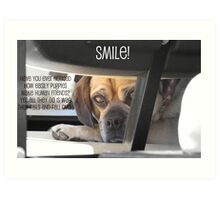 Smile :) Art Print