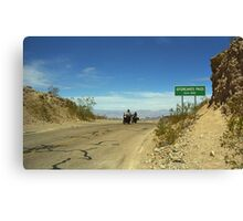 Route 66 - Sitgreaves Pass Canvas Print