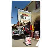Route 66 - Oatman, Arizona Poster