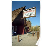 Route 66 - Bagdad Cafe Poster