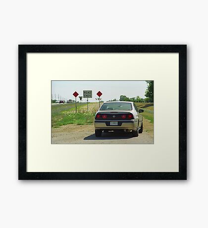 Route 66 - Illinois Framed Print