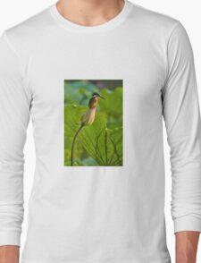 Kingfisher & Lotus Long Sleeve T-Shirt