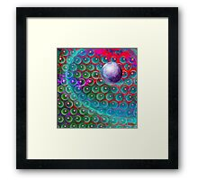 Space Hive 2 Framed Print