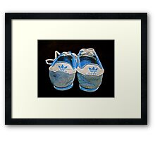 Terry Fox was here.. Framed Print
