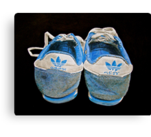 Terry Fox was here.. Canvas Print