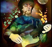 Syd Barrett by Nell McKellar