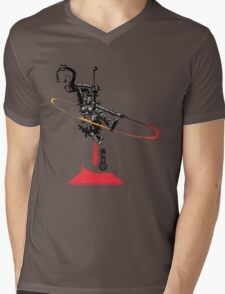 The Game of Kings, Wave One: The Black Queen-Knight's Pawn Mens V-Neck T-Shirt